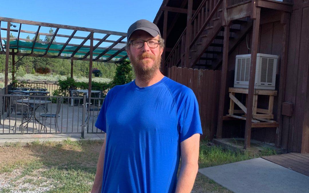 Steve at Old Station