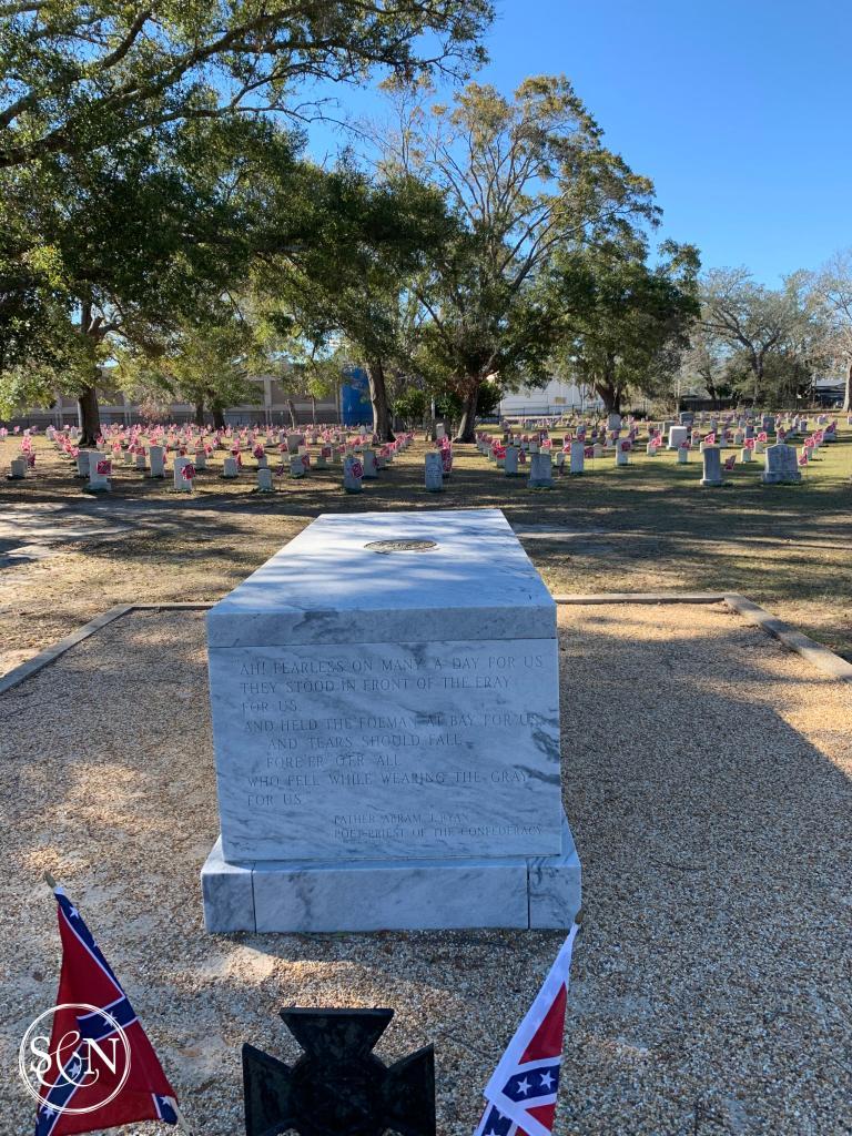 Confederate Cemetery Jefferson Davis