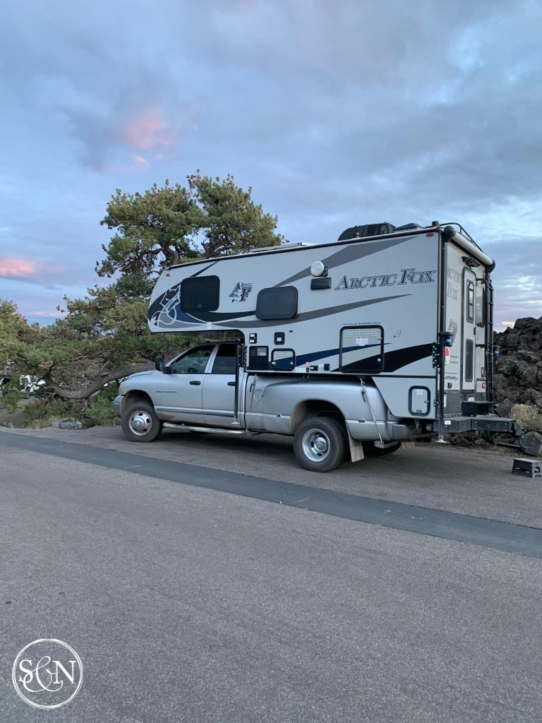 Truck camper tour