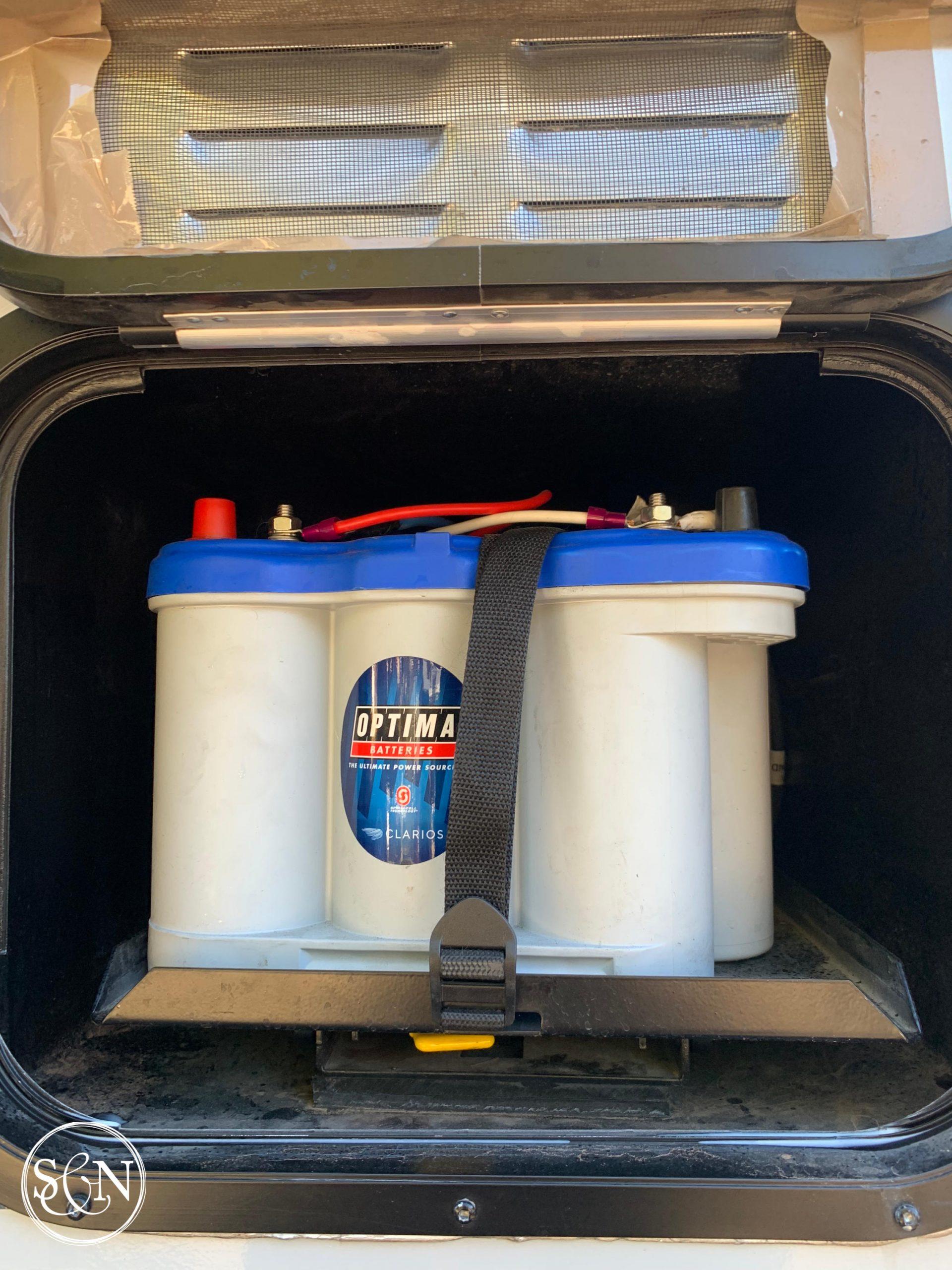 Dead batteries in truck camper