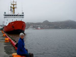 Nanci at the Harbour