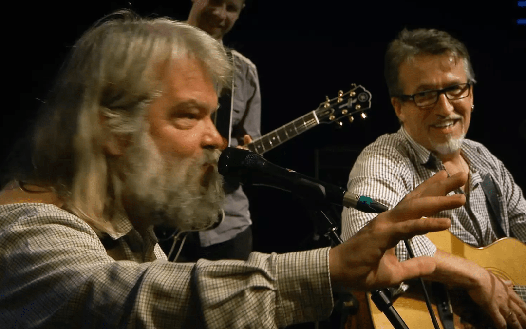 Steve Bell & Malcolm Guite – LIVE AT THE WEST END