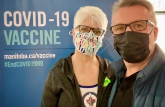 Today, my wife Nanci and I received our COVID-19 vaccines. Find out how we're paying it forward in support of global vaccine equity.