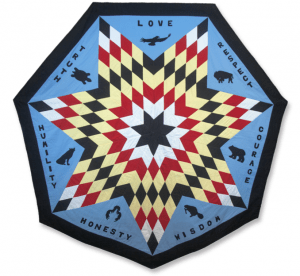 Infinity Star Quilt Ruby Payette