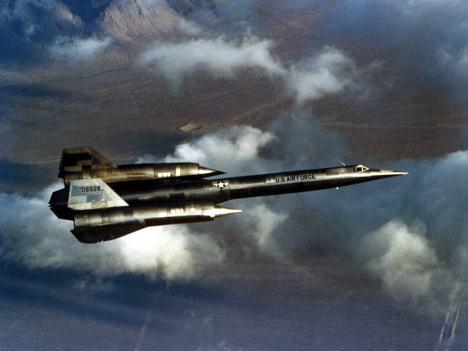 A-12 OXCART CIA Spyplane