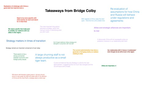 Takeaways from Bridge Colby investing español, noticias financieras