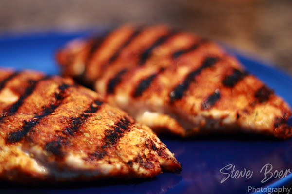 Cajun grilled chicken