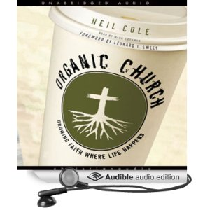 Get a free copy of Organic Church with your Audible Trial