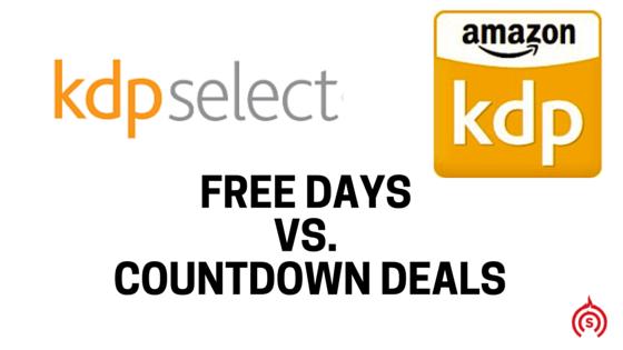 KDP Free Days vs. KDP Countdown Deals