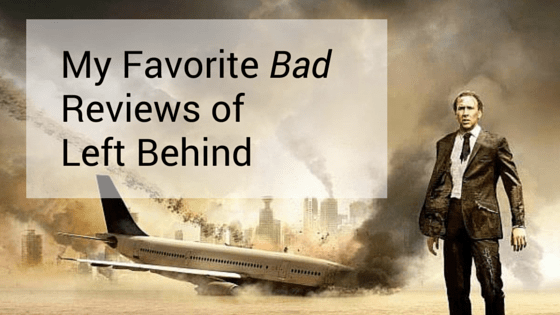 Bad Reviews Left Behind