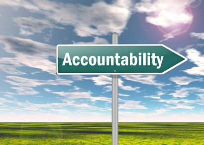 "Signpost ""Accountability"""