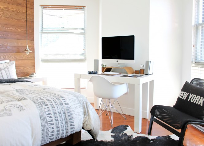 8 Stylish Ways To Work From Home In A Small Apartment Pinterest Roundup