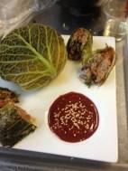 Kimchi Chou Farci