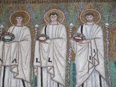 Ravenna: Basilica di Sant'Apollinare Nuovo. The Holy Martyrs.