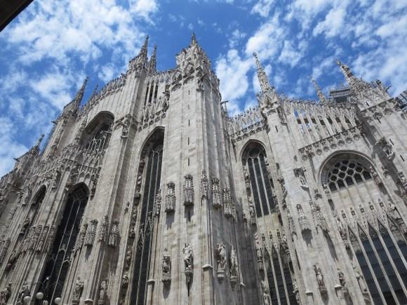 Milan: The Duomo.