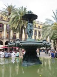 Barcelona: Plaça Reial.