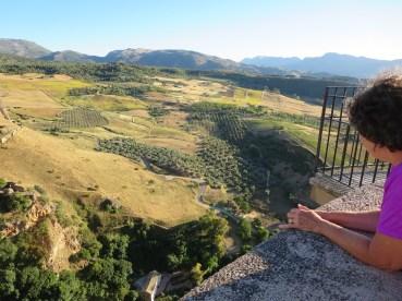 Ronda: View from Puente Nuevo.