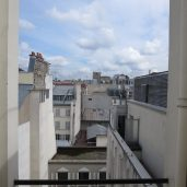 Paris: The view from our flat.