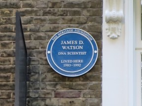 London: Former home of James Watson.