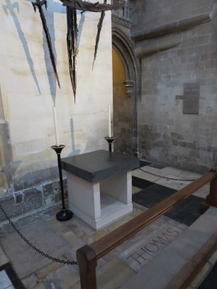 Canterbury Cathedral: Where Thomas was murdered.