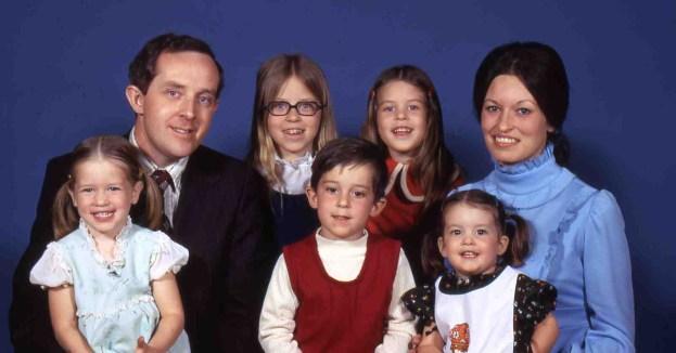Blessings. Hanson family 1974