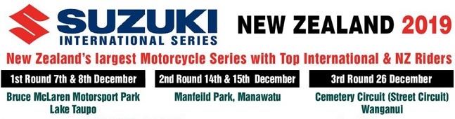 Suzuki Series at cemetery circuit Boxing Day