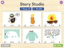 Story Creator Screen