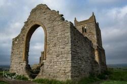 Burrow Mump church ruin