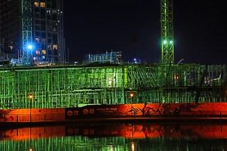 Dubai building site near the Burj Kalifah,