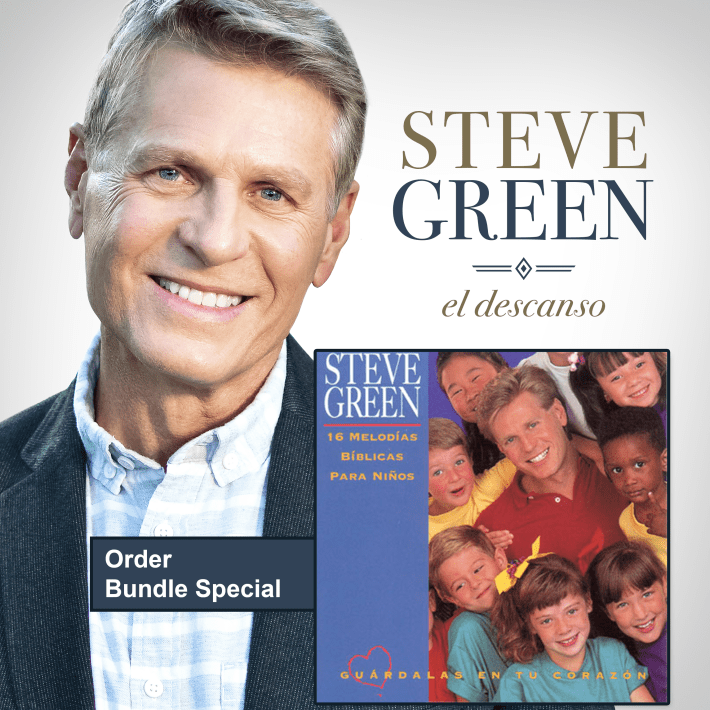 El Descanso Spanish Album by Steve Green