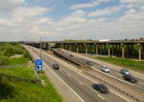 M5 & M6 from the Tame Valley Canal