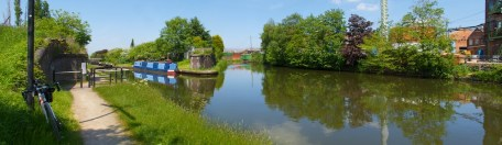 Black Lake Junction, Walsall Canal