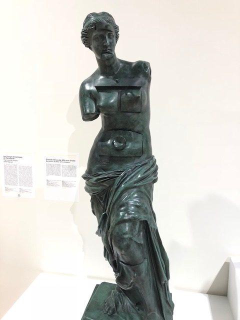 Dali's take on Venus de Milo