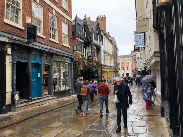 Cute little market street