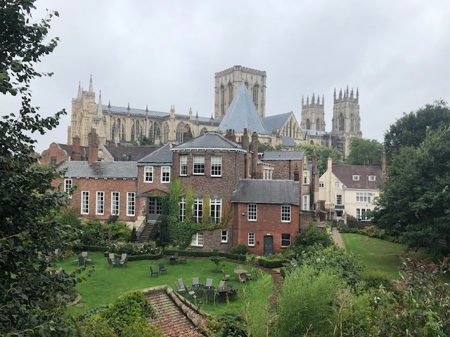 More York Minster from the wall