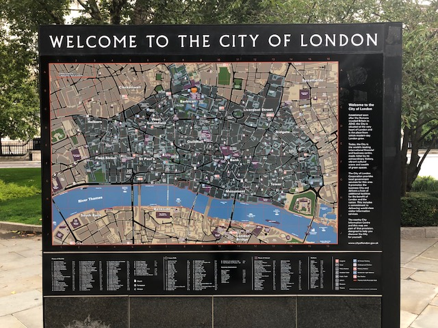 Map of the City of London