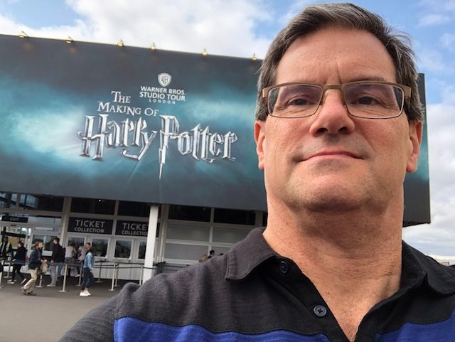 """The entrance to """"The Making of Harry Potter"""""""