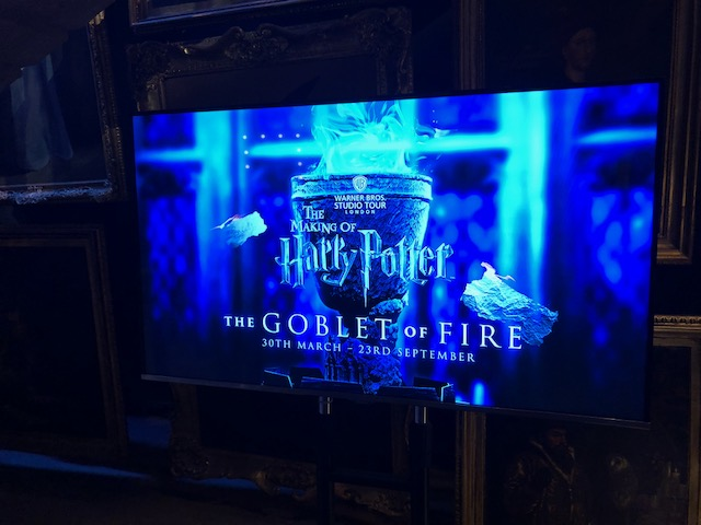 I'm here at a time when Goblet of Fire is being featured; perfect since that's my favorite movie of the 8