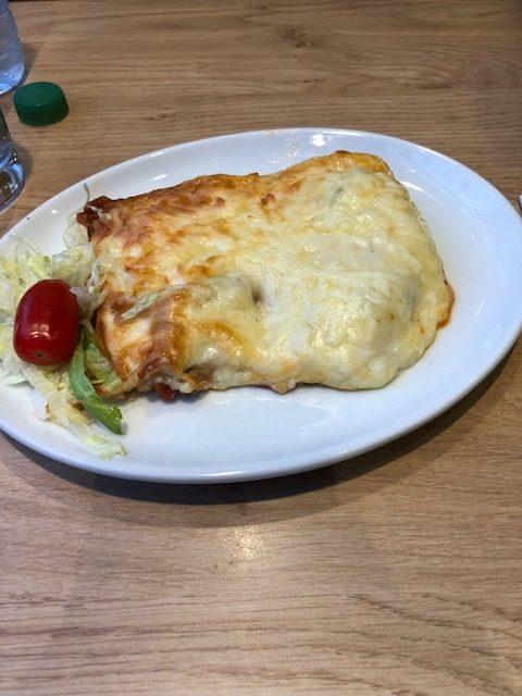 Lasagna for dinner...