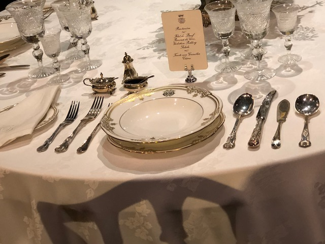 Close-up of a place setting