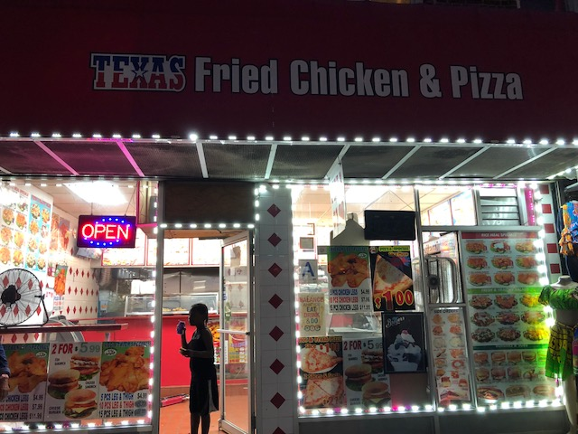 Texas Fried Chicken and Pizza