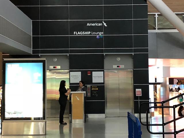 American Flagship Lounge