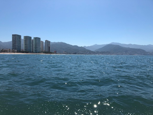 Banderas Bay, PV in the background