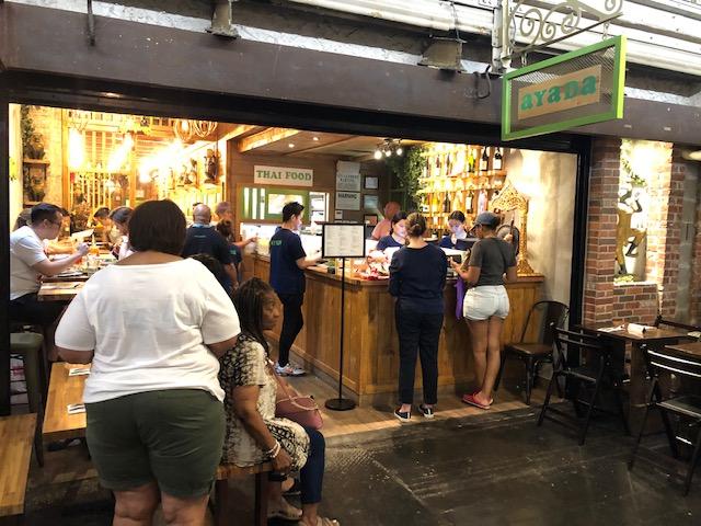 Thai restaurant in Chelsea Market