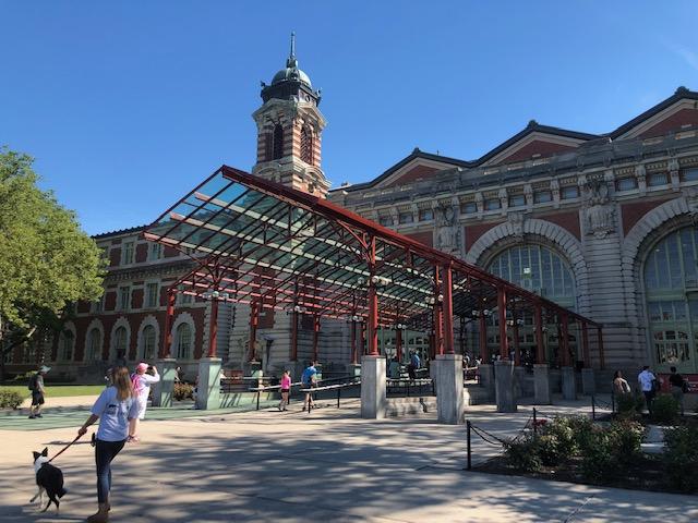 Entrance to Ellis Island Immigration Museum