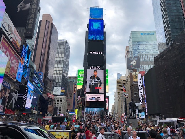 Times Square from 46th Street