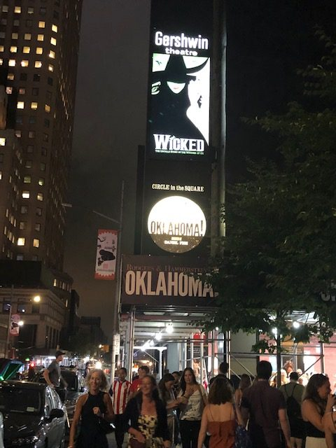 The Wicked Marquee from 50th