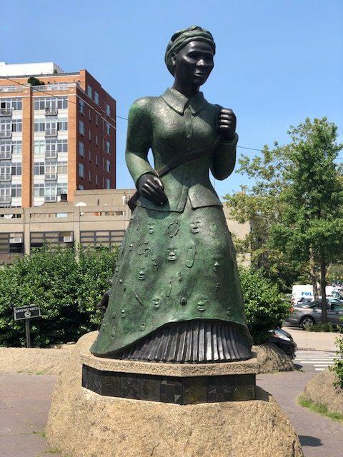 Harriet Tubman memorial in Harlem