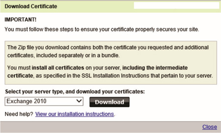 Steve Hardie – How To: Renew a GoDaddy Exchange 2010 SSL Certificate ...