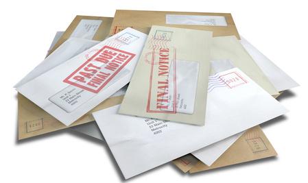 Debt Envelope Scattered Stack